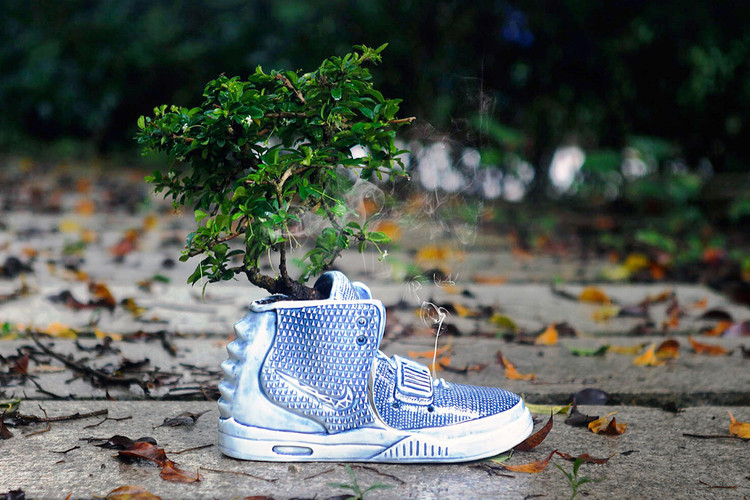 5ef238f37 The Nike Air Yeezy 2 Is Transformed Into a Ceramic Vase