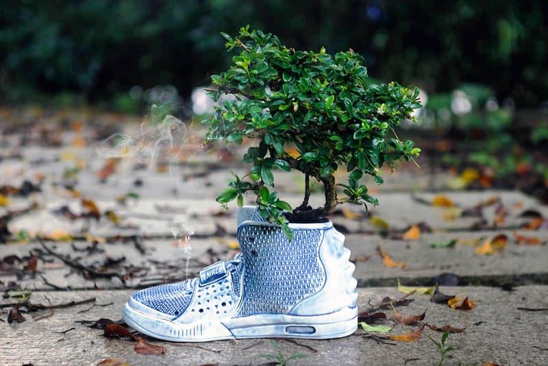 The Nike Air Yeezy 2 Ceramic Vase