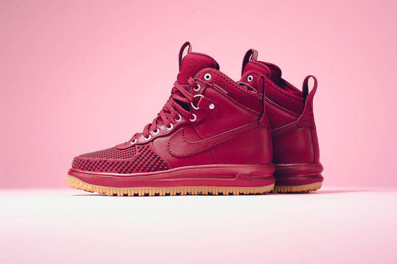 "8a4acb2d66d4 Nike Lunar Force 1 Duckboot ""Team Red"" boot sneaker boot"
