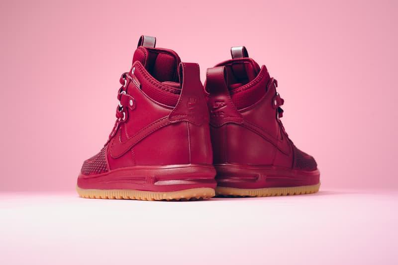 "Nike Lunar Force 1 Duckboot ""Team Red"" boot sneaker boot"