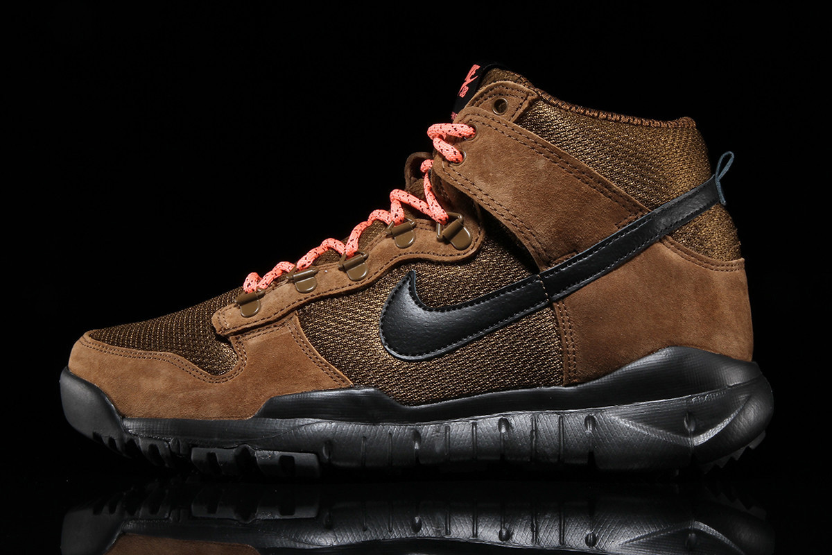 Nike SB Dropping Brown and Black Dunk