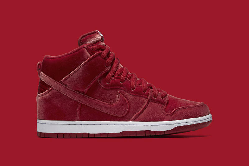 Nike SB Dunk High Red Velvet