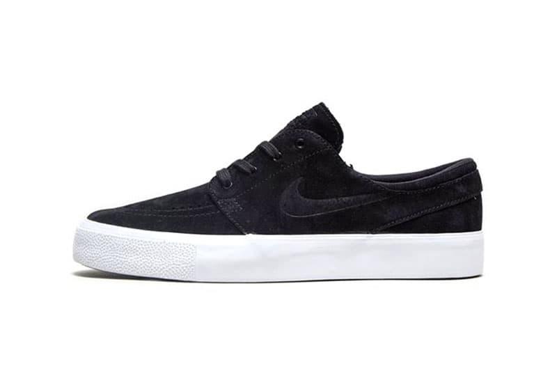 21da1045cf2b Nike SB Zoom Stefan Janoski Black Suede