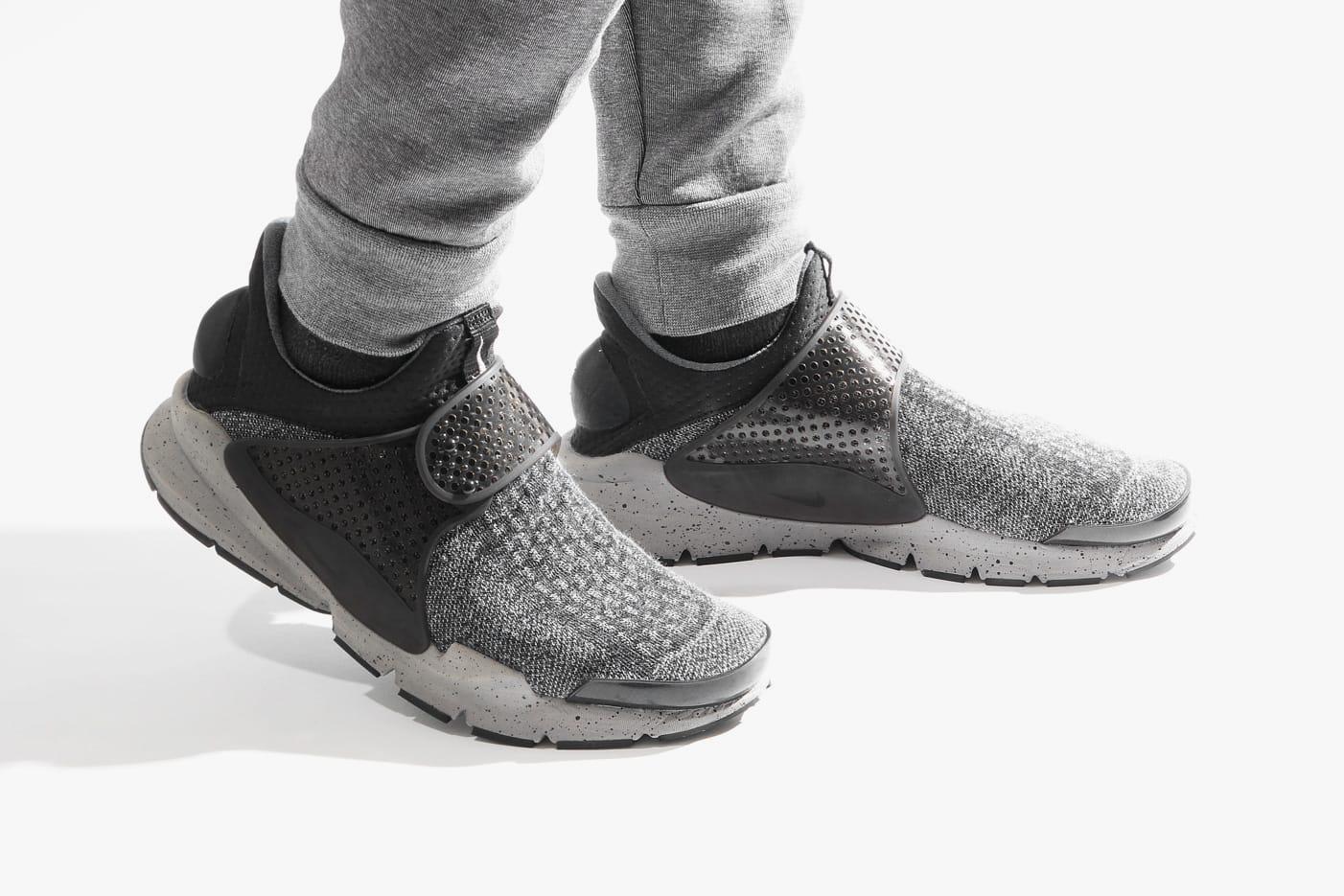 Nike Sock Dart Marled Gray Colorway