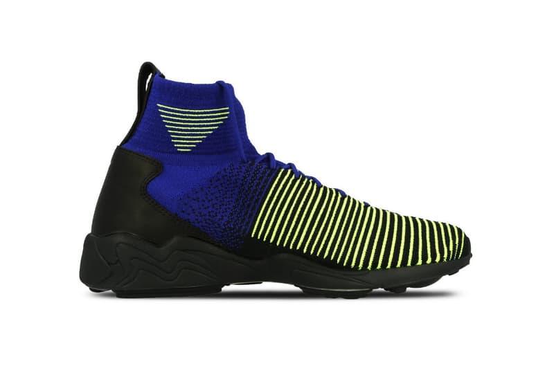 Nike Zoom Mercurial Flyknit Black Purple Yellow