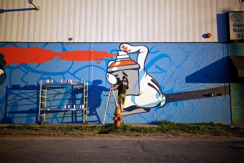 OG Slick at Murals in the Market Detroit