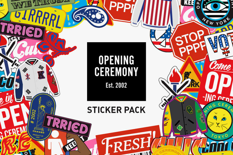 Opening Ceremony Sticker Pack for iMessage