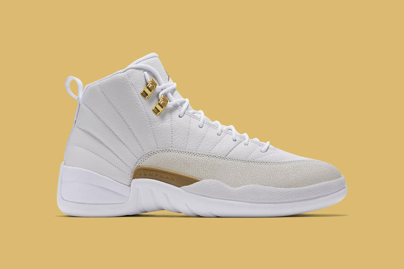 super popular 1b587 e2000 Drake White OVO Air Jordan 12 Unveiled