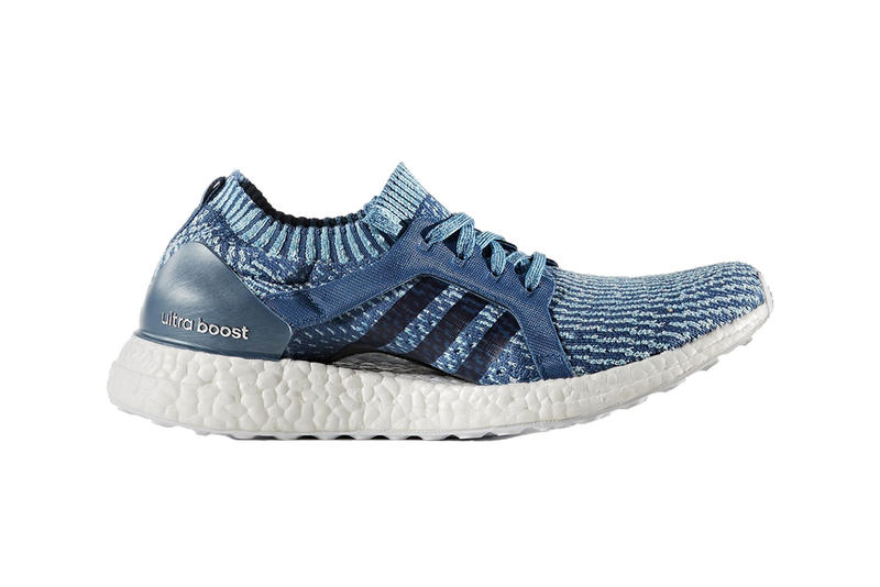 Parley x adidas Ultra Boost pure boost x Collection blue sneakers sustainable