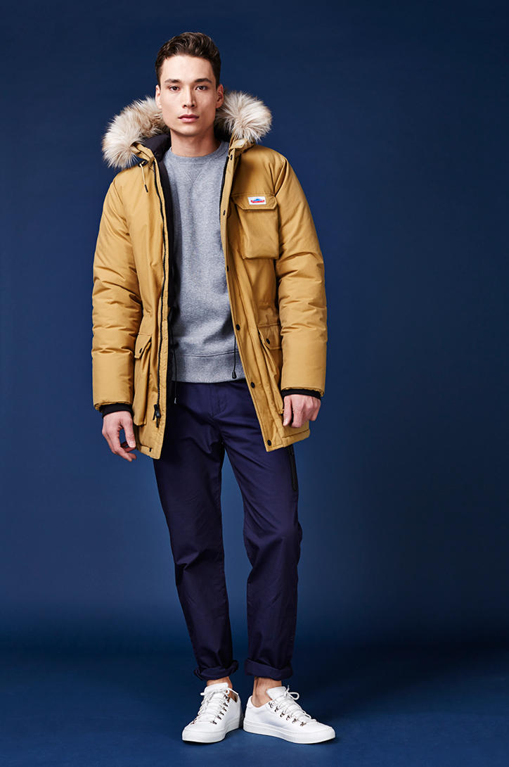Penfield 2016 Fall Winter Collection Fur Hood Coat