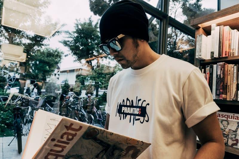 Jay Shawn Fronts PHANTACi x MADNESS' Lookbook tees new era caps sweatpants