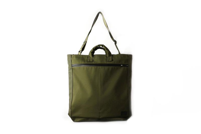 PORTER for BEAUTY & YOUTH City Collection olive green backpack