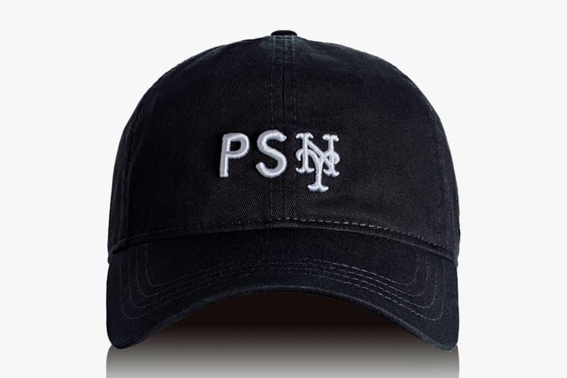 Public School x New Era Limited Edition Baseball Hats york yankees mets fitted snapback black blue