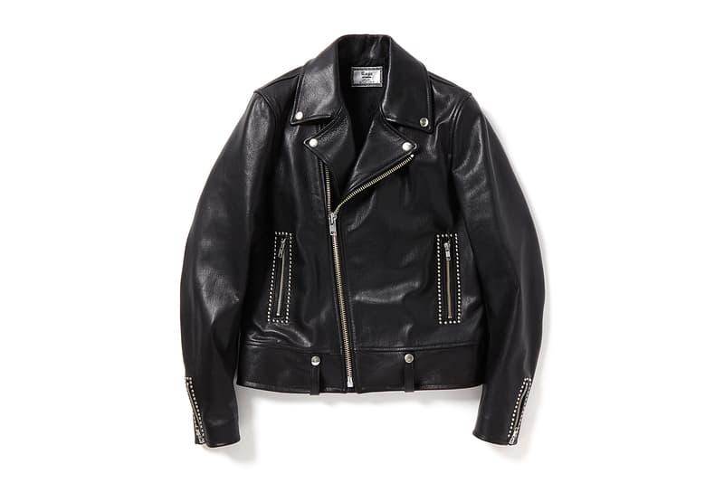 Rags McGregor Leather Biker Jacket Fall/Winter 2016 black studs