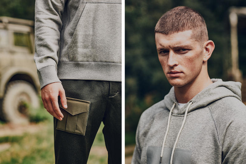 """Reebok Classic Partners up With BEAMS """"Field Supply"""" Collection lookbook"""