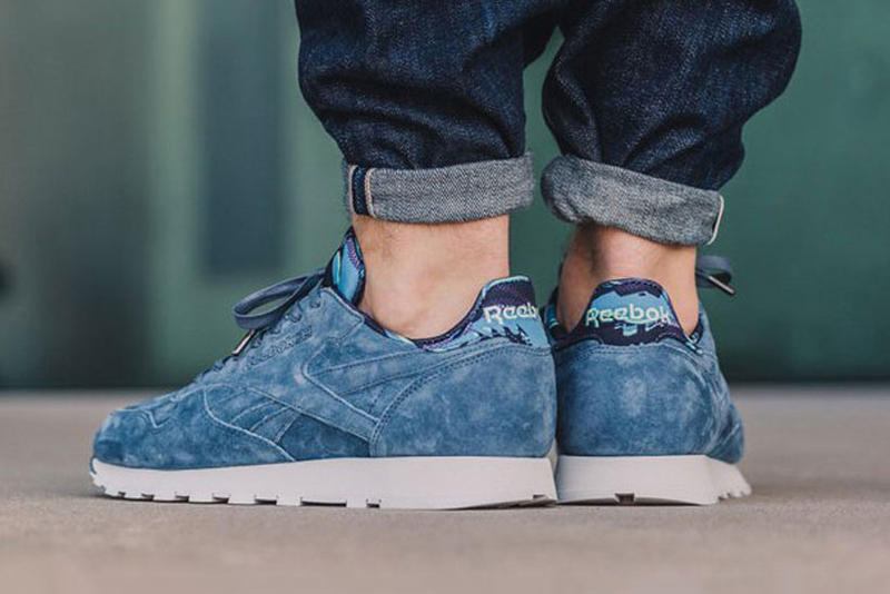 Reebok Classic Leather TDC Royal Slate On Feet