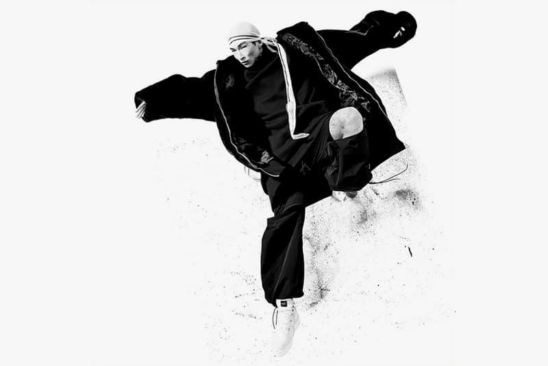 FENTY x PUMA 2016 Fall/Winter Campaign Sang Woo Kim black white