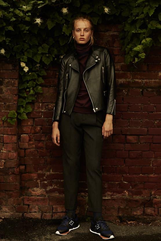 Scye x UNITED ARROWS x New Balance 530 black navy leather