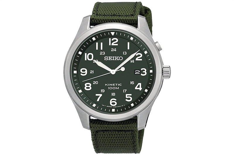 Seiko Upgrades the Kinetic Military Watch | HYPEBEAST