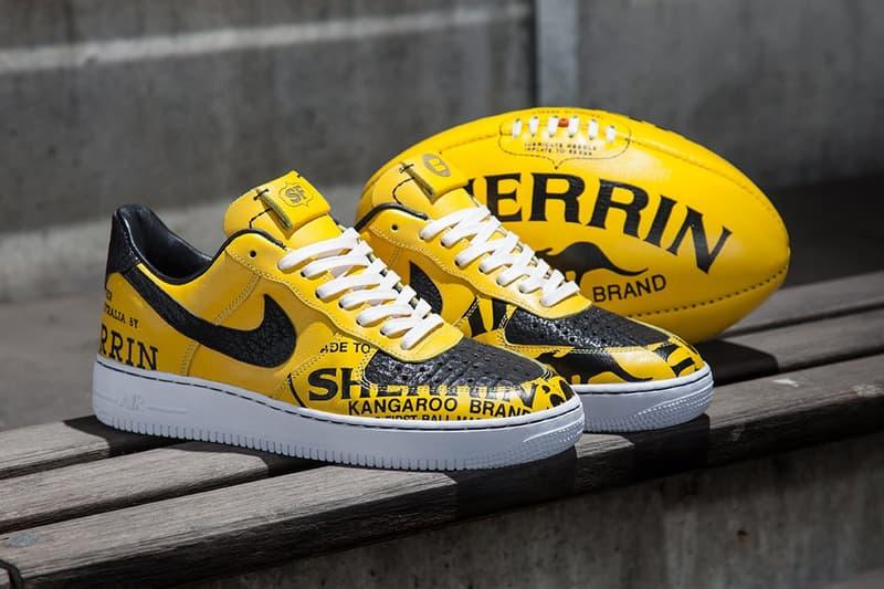 Sneaker Freaker and BespokeIND Custom Nike Air Force 1s