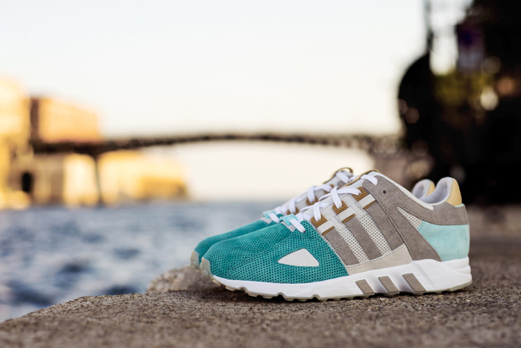 low priced ec3ce 6e10c Sneakers76 Brings Greek Mythology to the adidas Originals EQT Guidance 93.  Footwear