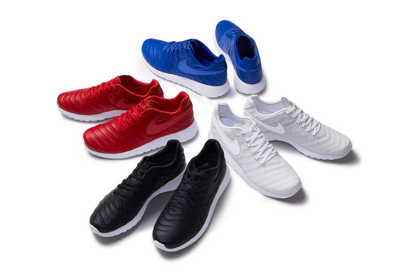 nike sneaker collaboration collection footwear streetwear supreme
