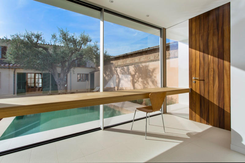 Pool Studio Extension Spain Balearic Islands Joan Miquel Sequi
