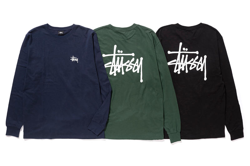 Stussy Fall 2016 Collection Drop 4 pastel blue yellow pink