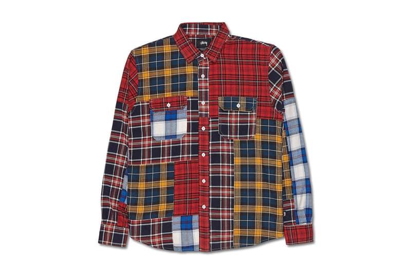 Stüssy Mixed Plaid Shirt