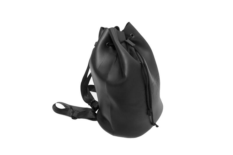 Sympl Supply Co.'s Bags Offers up a New Luxurious Alternative to Leather duffle bag japanese neoprene california surf
