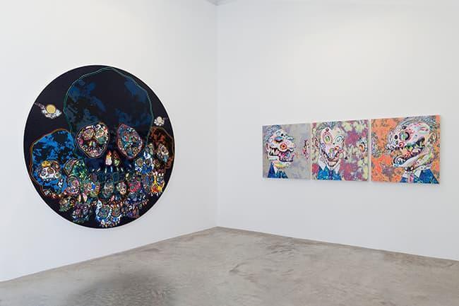 Takashi Murakami Learning the Magic of Painting Galerie Perrotin