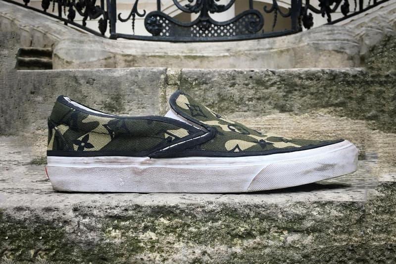 Takashi Murakami Louis Vuitton Vans Slip Ons