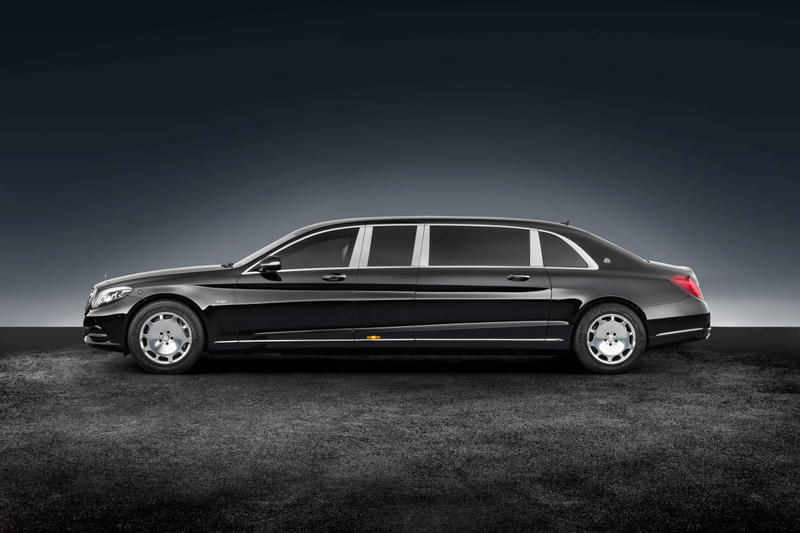 mercedes-maybach armored s600 pullman guard | hypebeast