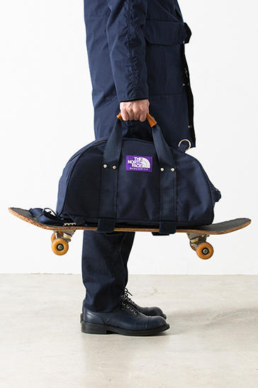 THE NORTH FACE PURPLE LABEL 3-Way Duffle Bag skateboarding travel navy black grey