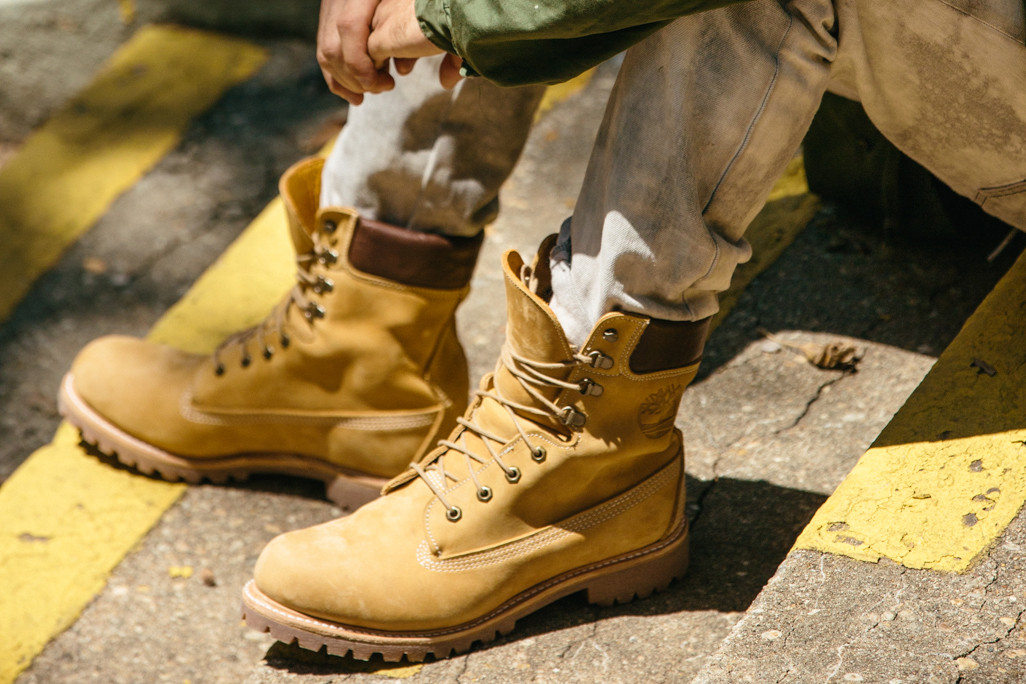Made In the US Yellow Boot