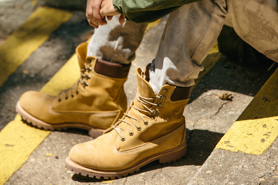 Timberland Releases Special Made In the US Yellow Boot  bc2c2e7632bd8