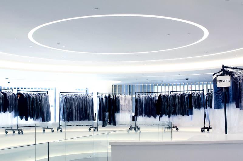 Vetements Concept Store Saks Downtown