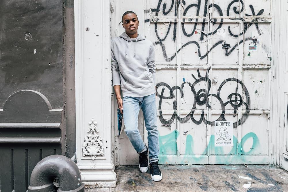 vince staples converse essentials hoodie crewneck zip up nyc lookbook