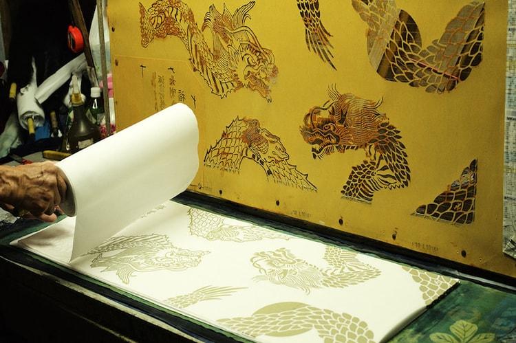 outlet store 97e62 d73fc visvim Delves Into Traditional Japanese Dyeing Technique Chusen
