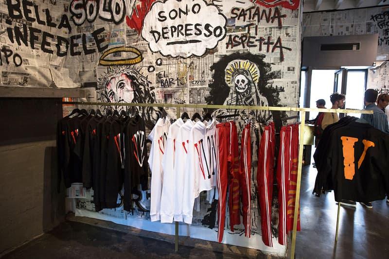VLONE Pop-up Shop At SlamJam Milan