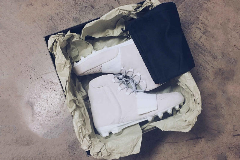 Von Miller's adidas Yeezy Boost 750 Cleats for NFL Kickoff Game off white kanye west ye