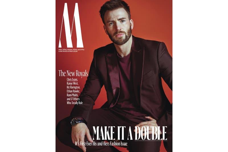 W Magazine Royals Issue Chris Evans