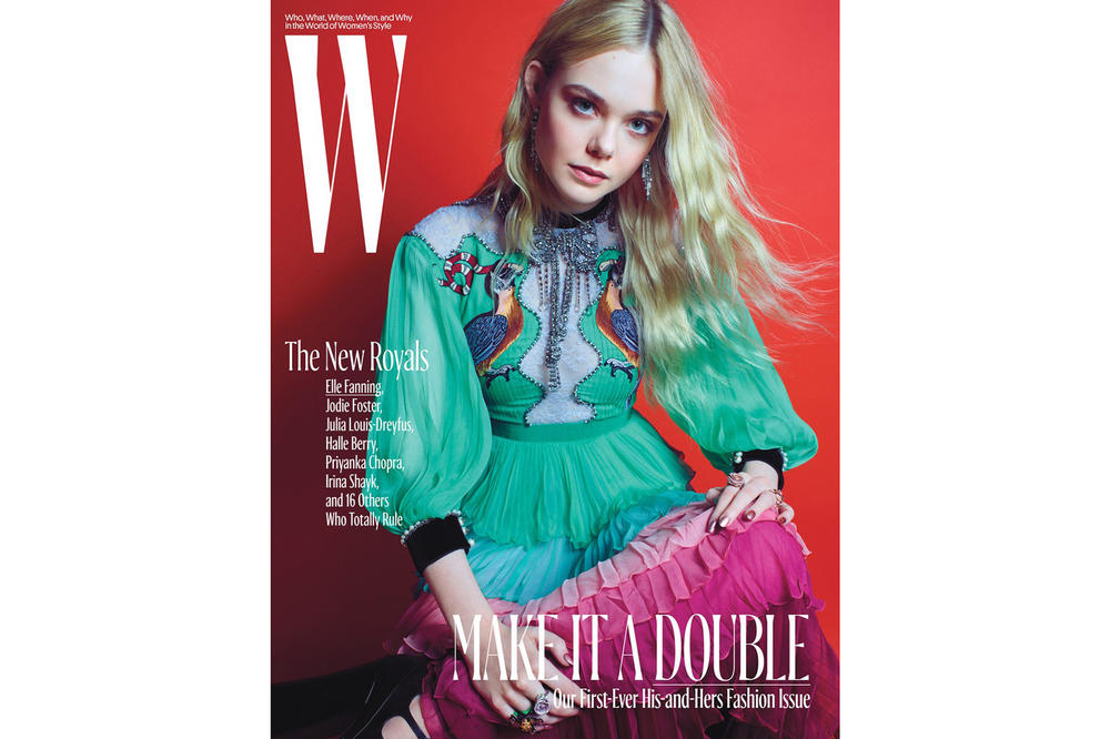 W Magazine Royals Issue Elle Fanning