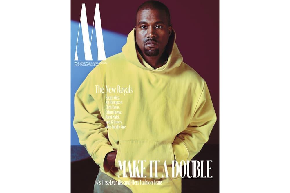 W Magazine Royals Issue Kanye West