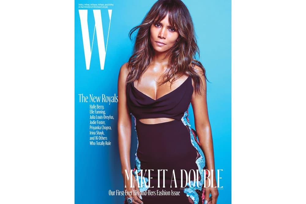 W Magazine Royals Issue Halle Berry