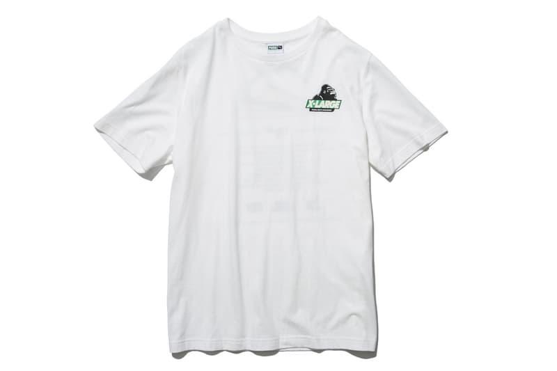 XLARGE x mita sneakers PUMA Clyde beige green white