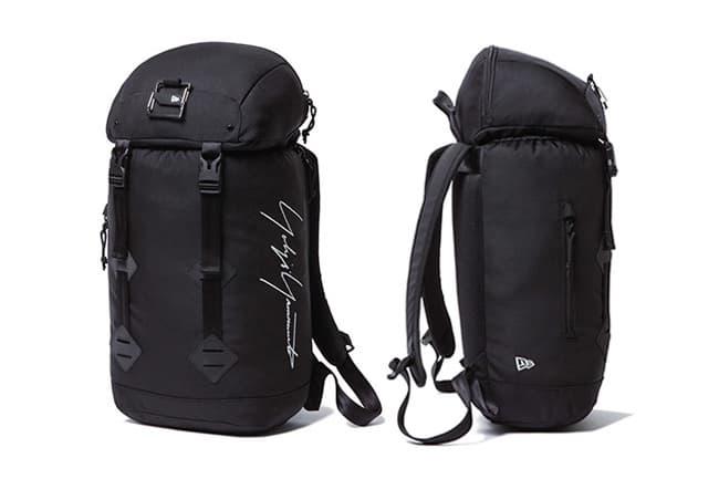 Yohji Yamamoto and New Era hat jacket bag navy black