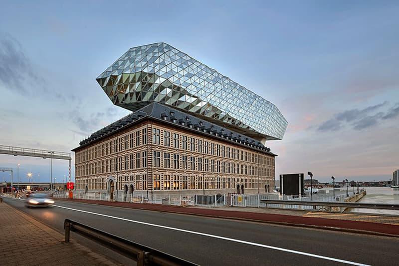 Zaha Hadid Architects Antwerp New Port House glass