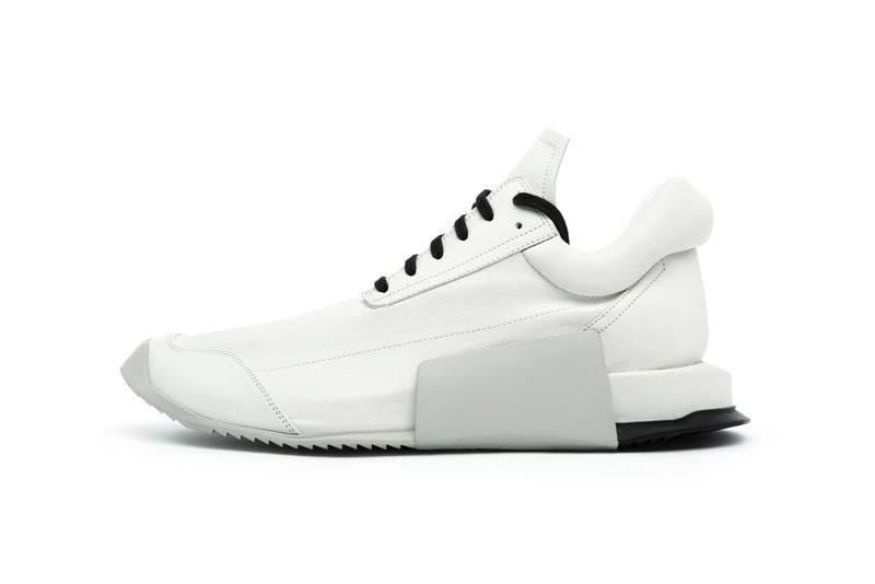 adidas by Rick Owens 2017 Spring/Summer sneakers black white