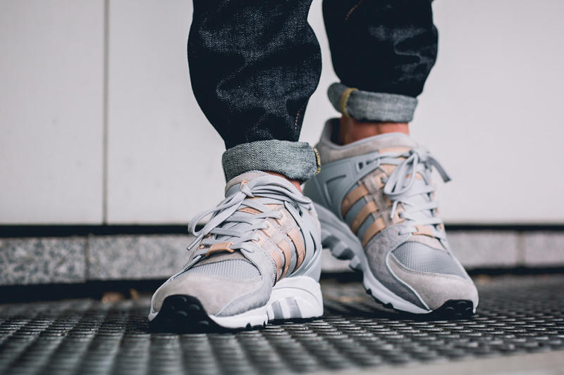 """adidas EQT Running Support '93 """"Croc Pack"""" olive clear onix off white"""